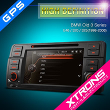 "Xtrons PF7146BGT 7"" GPS touch screen 7 inch car dvd player with canbus steering wheel control for E46 BMW 3 series"