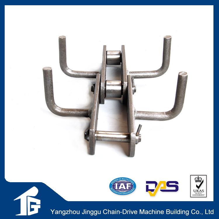 With extended pins welded g80 chain plastic chain conveyor belt
