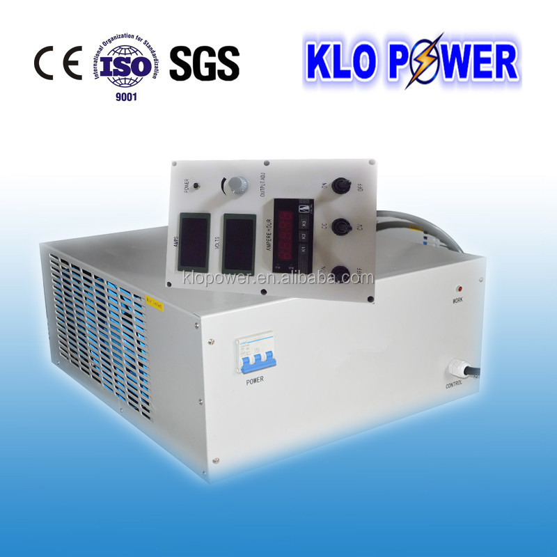 IGBT switching plating 300 amp rectifier with remote control box and timer easy adjust ampere and voltage