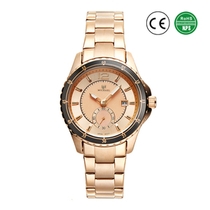 TENENG 2018 Hot Sale Luxury Quartz Waterproof Watch Ladies Women Wrist Stainless Steel Watch