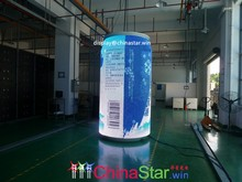 soft flexible LED display screen Arbitrary shape LED signs OLED display board