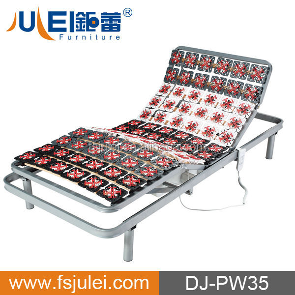 Massage Plastic Caps Okin Motor Control Adjustable Electric Metal Bed frame