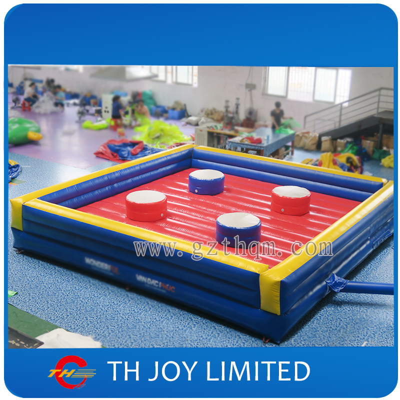 Outdoor sports fighting inflatable joust game for adult