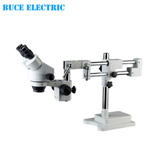 7x-45x Binocular Stereo Zoom Microscope Dental Operating Microscope with Flexible Arm XTL7045-B10