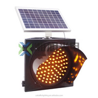 Best factory price road construction warning light/led flashing traffic signs