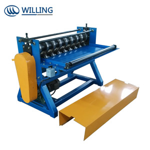 Cheap price steel coil slitting machine / sheet cutter / cutting shear with oversea service