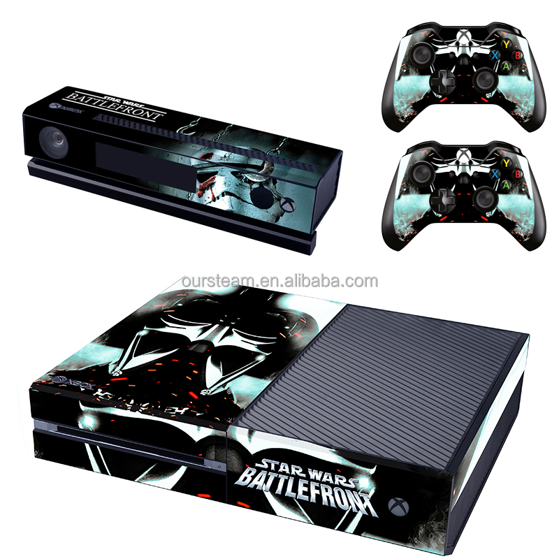 Wholesale Decal Skin Sticker For Xbox One Console Controller Skin Sticker + 2 New Controller Skins