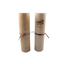 Mountain High quality web paper printing leather wine carrier