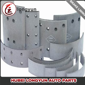 trailer brake shoe lining trailer spare parts brake lining truck auto parts