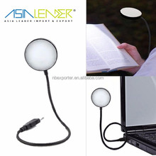 for PC Notebook Flexible Travel Dimmable LED USB Lamp Light