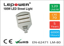 CE RoHS TUV LED Road lamp 50w-300w LED street light NEW MODEL IP67 Aluminum 120lm/w