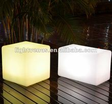Color emotion home, party LED cube chair