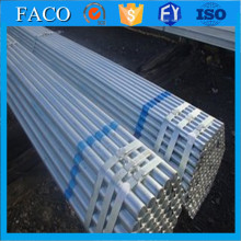 New design 304 mirror finished ss round pipe thread galvanized round steel pipe/tube with low price