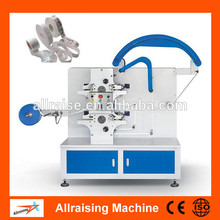 Textile/ribbon/paper/satin/washable labels flexo label printing machine