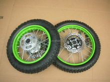 Dirt Pit Bike Off road Motorcycle QINGDA Wheels