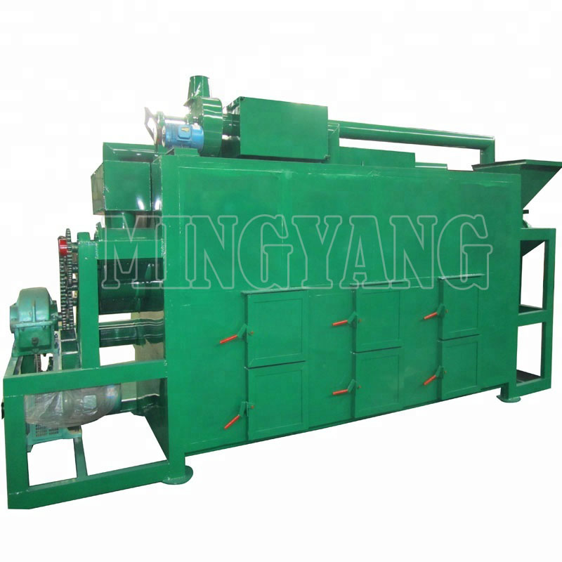 High Quality Sawdust Wood Charcoal Continues Carbonizer Making Machine Charcoal Making Machine