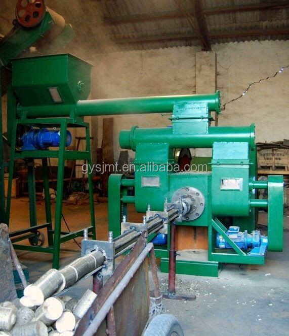 China best supplier log wood chips stamping briquette forming machine