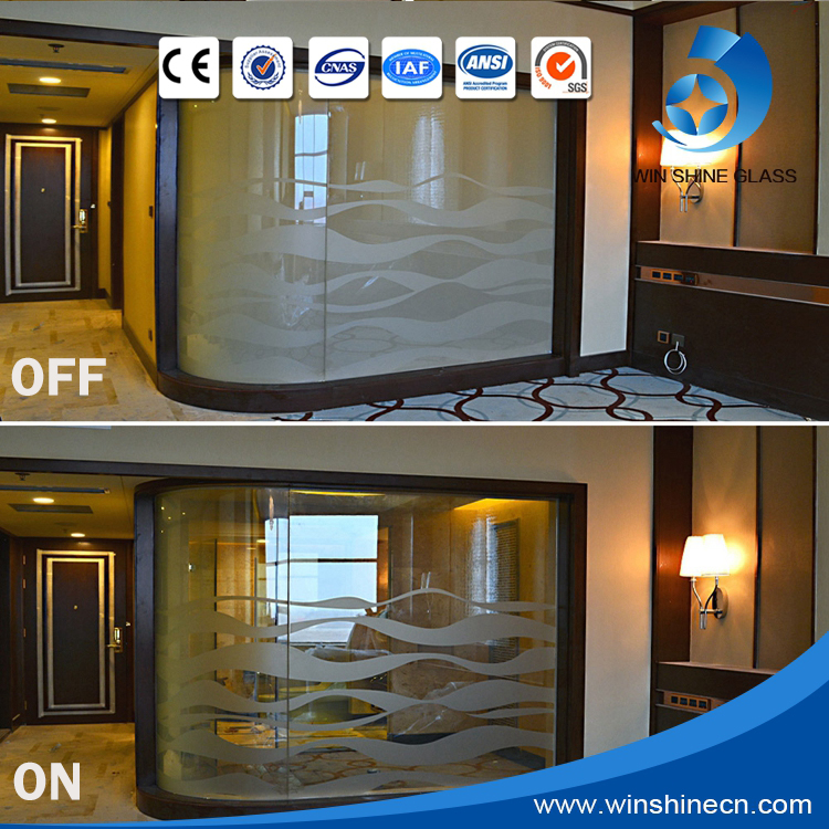 2016 opaque to transparent electrochromic smart glass film/Window Switchable smart pdlc film/ smart Electronic Window tint