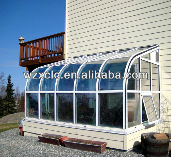 Curved Roof Outdoor Sun House