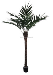 Sun Fung 7 foot LARGE Artificial FAKE PALM TREE Plastic leave Yard Indoor/Outdoor