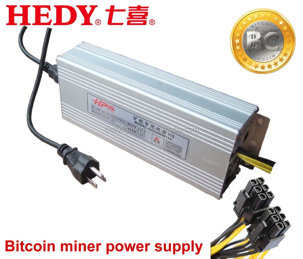 Guangzhou Factory provide Bitcoin miner power <strong>supply</strong> switching single output type smps 12v power <strong>supply</strong> 500w