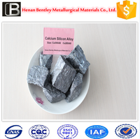 ferro sica alloy china henan supplier calcium silicon/silicon calcium alloy/casi/silicon metal raw