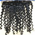 Virgin hair frontal, Lace Front Closure With Part