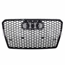 RS Style Honeycomb Hex Mesh Front Bumper Grille for Audi A7 / S7 (2010-2016)