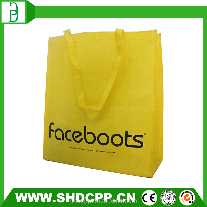 factory price reusable shopping tote bag with custom logo