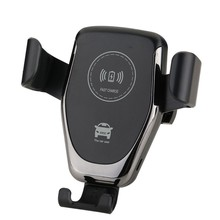 hot sell !! 10W Fast Charging Universal Gravity Car Holder QI Mount Wireless Car Charger for samsung for iphone for smart phone