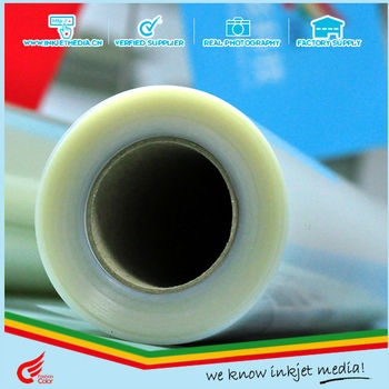 "Waterproof Inkjet Transparency Film 24"" x 100' Roll"