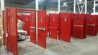 WH listed 3 hours Fire rated door powder coating