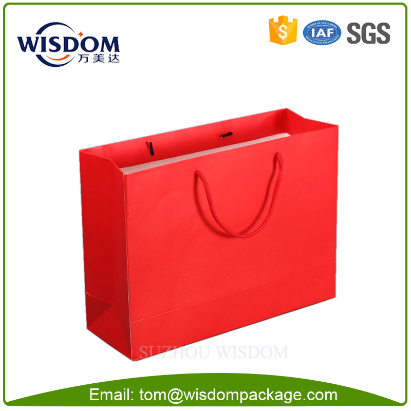 printed paper cloth carry bags