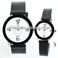 2013 Hot Sale Popular Fashion Simple Silicone Watch Quartz Lovers Jelly Wrist Watches