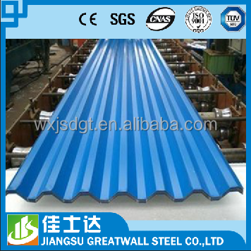 corrugated metal sheets /zinc aluminium roofing sheets / color coated ppgi galvanized steel coil