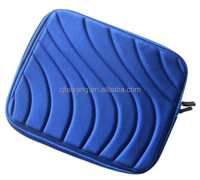 "ODM factory 12"" highest quality plain foam low price Lightweight promotional wholesale shockproof EVA laptop bag/cases/sleeve"