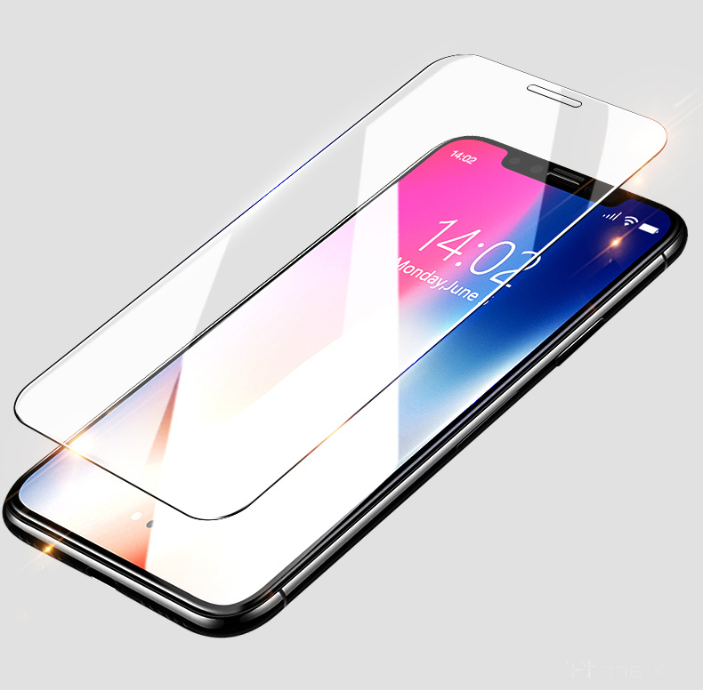 wholesale Price anti glare tempered glass screen protector for iphone X XS XS MAX tempered glass