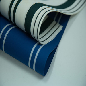 waterproof fabric for umbrella fancy outdoor furniture fabric 450D 100% polyester stretch fabric