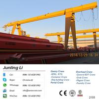 Low Clearance Overhead Gantry Crane For Sale