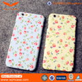 For iphone 6 case, Cell phone case Water Print flower pc Case for iphone 6s