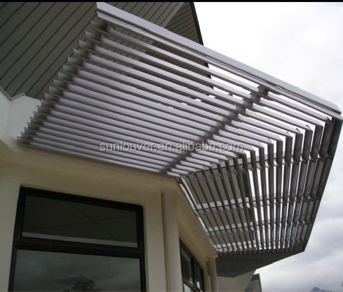 Architectural Window Aluminum Metal Shading Overhang