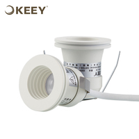KEEY Aluminum 2W Mini Led Light Spot Lighting CREE Chips Warranty 2 Years External Driver TH1511C