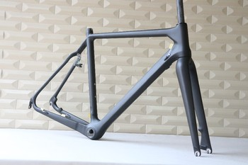 best sale 50cm UD BSA cyclocross frame carbon fiber cyclocross bike frame