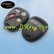 Car key housing for GM key shell 3+1 buttons remote control case with battery hold without letter on the backside