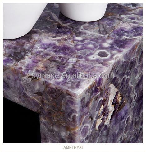 Amethyst geode change color marble for counter top wall and flooring /marble slab/granite countertop