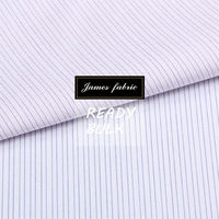 James 65% cotton 35% polyester woven dobby fabric for men's shirt