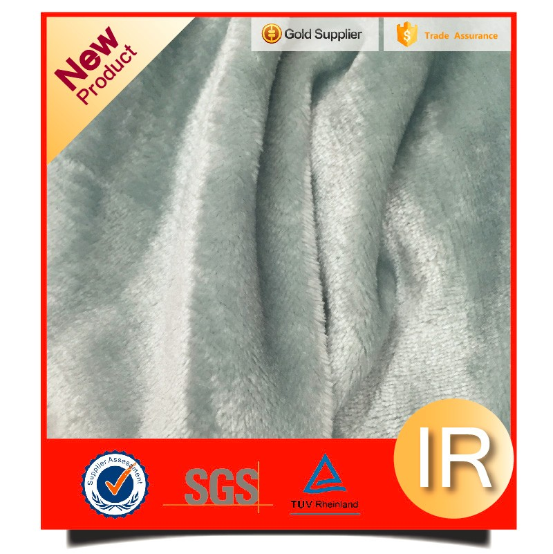 microfiber super soft polyester flannel fabric
