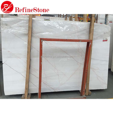 Decorative stone red vein white onyx hot sale Chines onyx marble slab