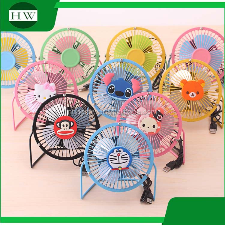 Mini Best selling Cute USB portable desk fan Promotion Gifts Free Sample