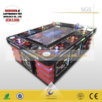 alibaba express shooting fish game fishing shooting game machine